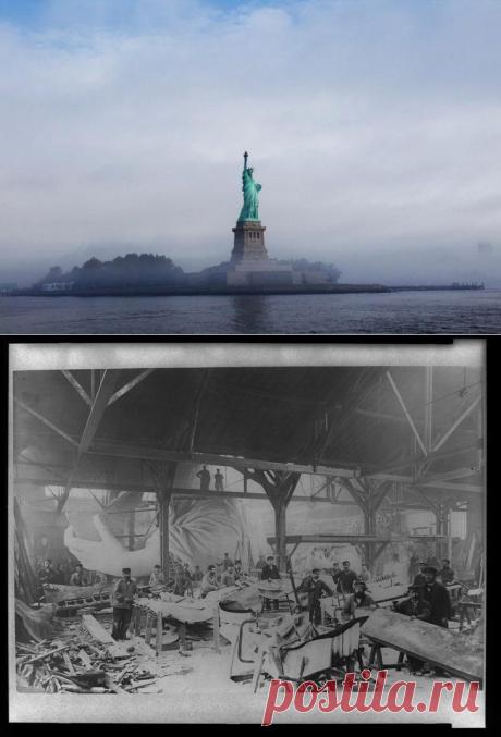 Что повидала статуя Свободы за 130 лет своей жизни