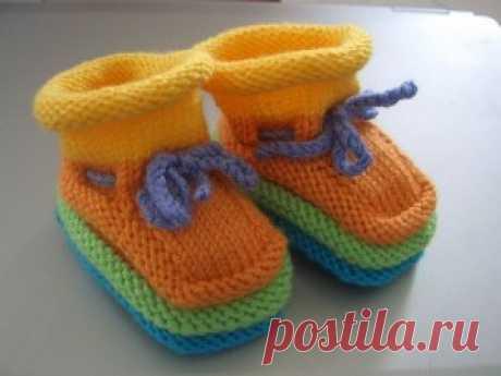 Детская обувь модели (рассказал) | Вязание, Вязание модели, Вязание образцы, Derya Baykal Ткет
