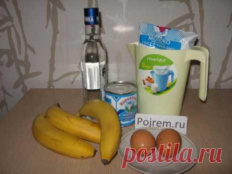 По-домашнему вкусный банановый ликер - не хуже покупного и на порядок дешевле | Четыре вкуса