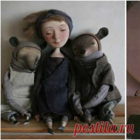 Куклы Марины Глебовой.