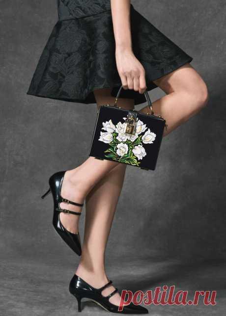 Dolce & Gabbana Lookbook pret-a-porter осень-зима 2016- 2017 —«Tulips» (Тюльпаны)