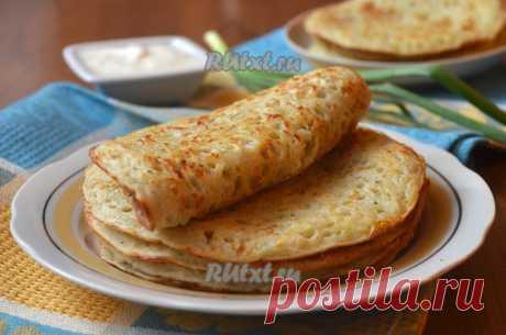 Картофельные блинчики - сытные, нежные, воздушные! | Четыре вкуса
