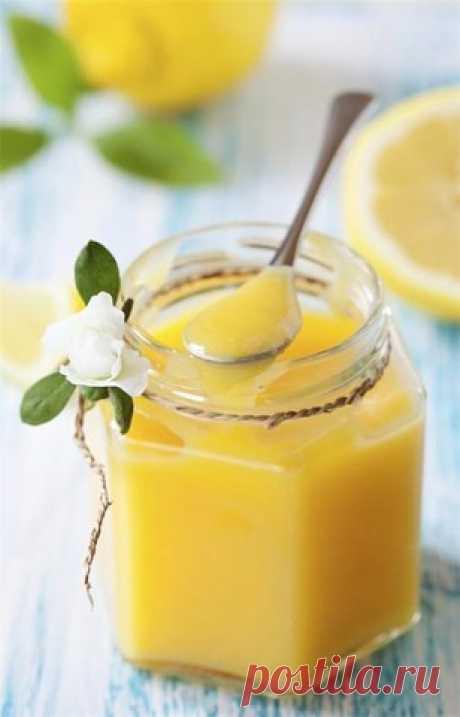 Лимонный заварной крем, который можно лопать ложкой прямо из баночки! | Четыре вкуса