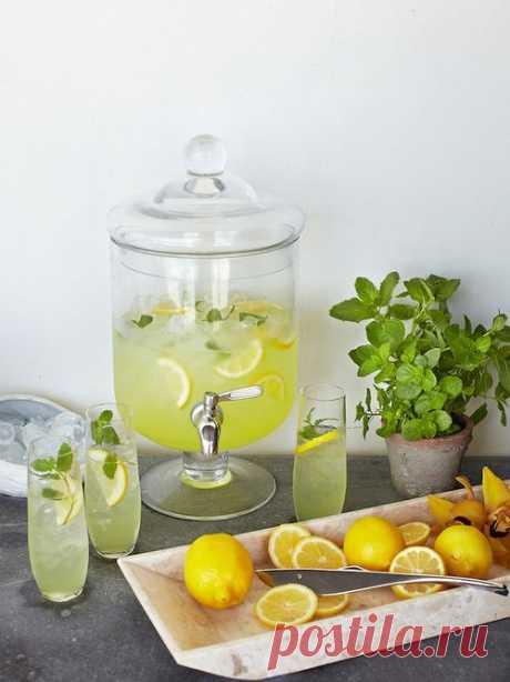 Лучшие рецепты лимонада в домашних условиях - 90 Фото оформления стола