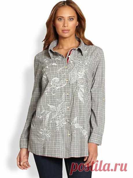 Каталог одежды больших размеров в стиле бохо-шик американского бренда Johnny Was. Осень-зима 2013-2014