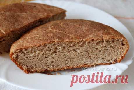 Ржаной хлеб в духовке, рецепт с пшеничной мукой. Первый опыт, как испечь хлеб!