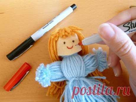 Кукла из ниток