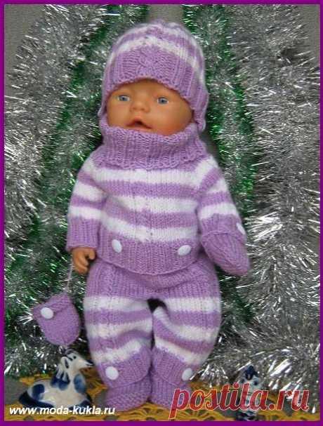 одежда спицами для кукол | Записи с меткой одежда спицами для кукол | Творческий мир BelayaLiliya
