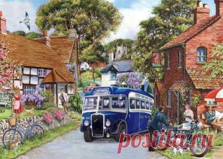 Картинки для декупажа английской художницы KEITH STAPLETON