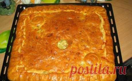 Как приготовить любимый бабушкин курник  - рецепт, ингредиенты и фотографии