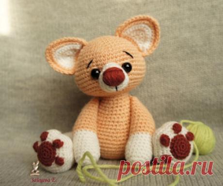 1000 схем амигуруми на русском: Рыжий кот