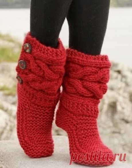 Носки-сапожки