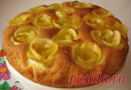 Готовим вместе: Яблочный пирог