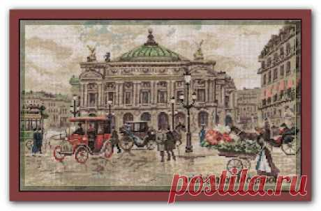 "Вышивалка: Панна GM-1481 ""Париж. Гранд Опера"""
