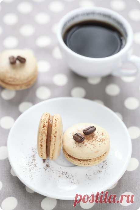 Verdade de sabor: Кофейные макаронс / Macarons de café