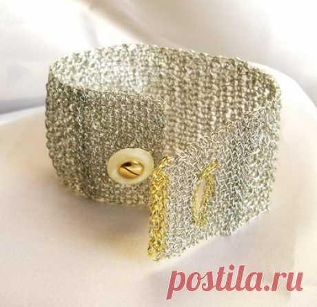 Impressionantes joias de arame de crochê por Zircon Jewels - The Beading Gem's Journal