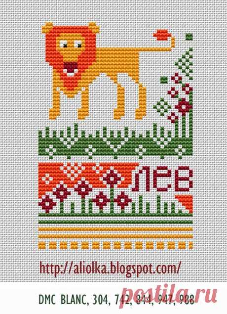 Мои творилки *** Aliolka design: Забавная серия с животными. (схемы)
