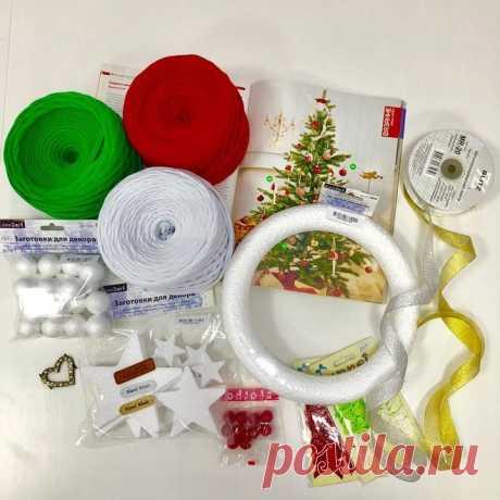 Инструкция: делаем новогодний венок для праздничного декора