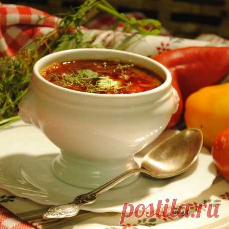 Рецепт борща от Ирины Розановой