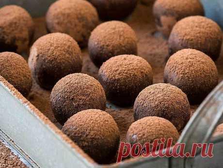 Рецепт шоколадных трюфелей от Гордона Рамзи