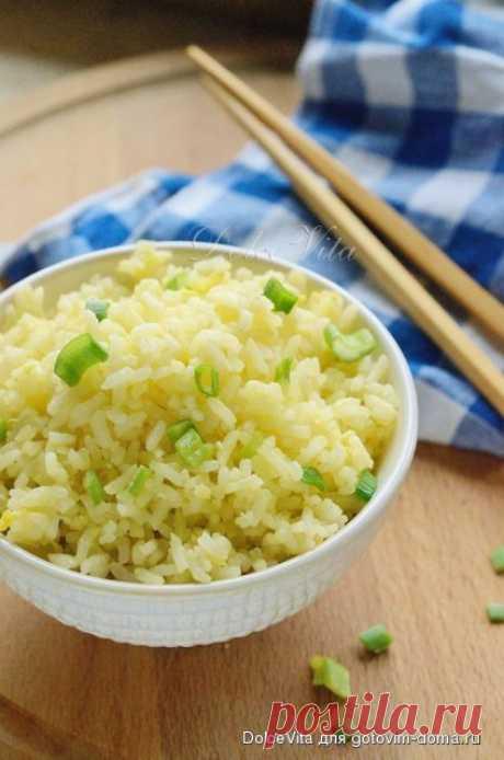 Рис, обжаренный с яйцом по-китайски • Китайская кухня