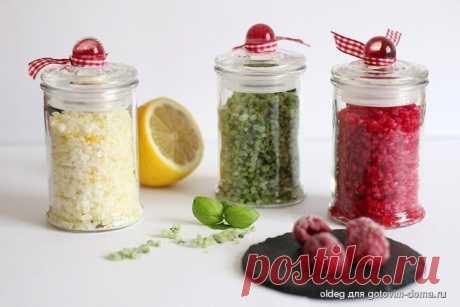 Ароматная соль в домашних условиях • Специи и приправы