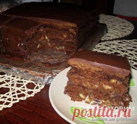 """""""Шоколадный Дамский каприз"""" - пошаговый рецепт с фото на Готовим дома"""
