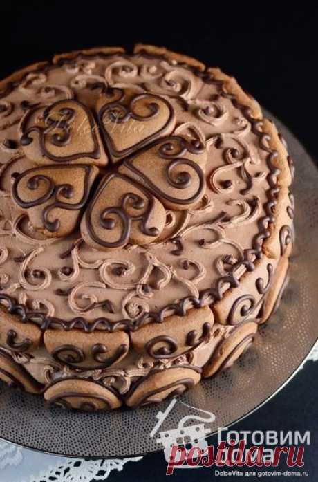 """Торт """"Пряничная шкатулка"""" - пошаговый рецепт с фото на Готовим дома"""