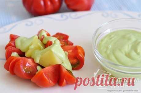Соус из авокадо - пошаговый рецепт с фото на Готовим дома