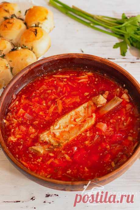 Борщ украинский - пошаговый рецепт с фото (читаем комменты)