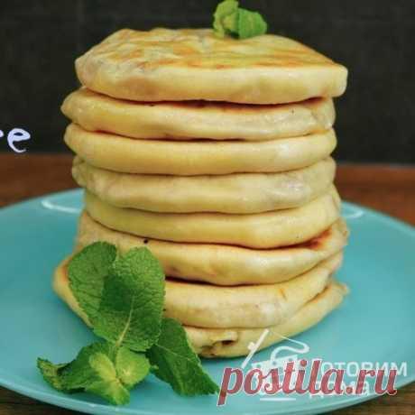 Лепешки с мясом и зеленью - пошаговый рецепт с фото на Готовим дома