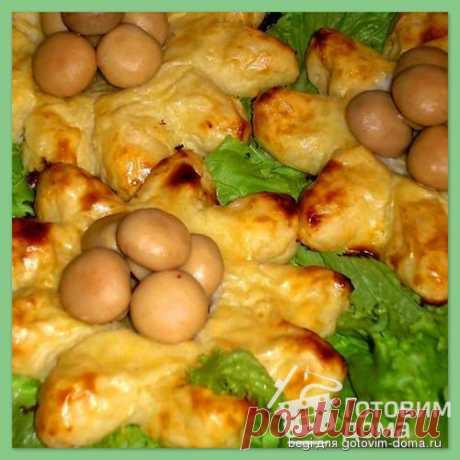 Картофельные ватрушки. Эти картофельные ватрушки украсят любой праздничный стол!  Начинка может быть любая
