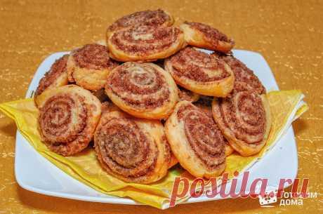 """Печенье """"Шоколадные розочки"""" - пошаговый рецепт с фото на Готовим дома"""