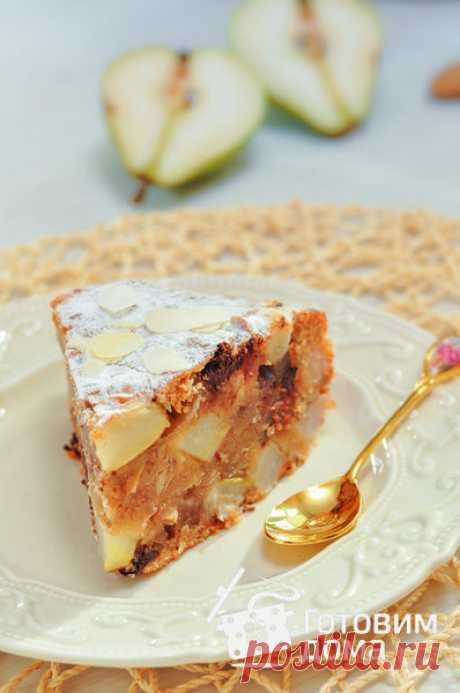 Медовый кекс с грушами (постный) - пошаговый рецепт с фото на Готовим дома