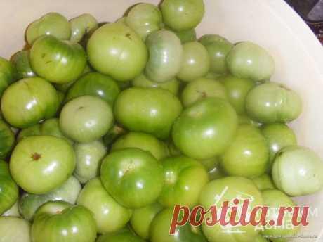 Соленые зеленые помидоры - пошаговый рецепт с фото на Готовим дома