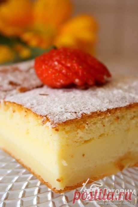 """""""Умное"""" пирожное - пошаговый рецепт с фото на Готовим дома"""