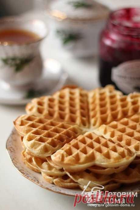 Ванильные вафли - пошаговый рецепт с фото на Готовим дома