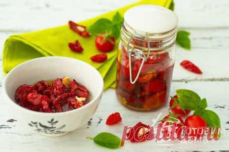 Вяленые помидоры - пошаговый рецепт с фото на Готовим дома