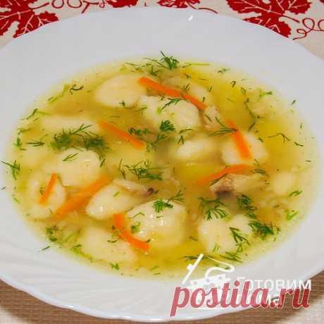 Куриный суп с клецками - пошаговый рецепт с фото на Готовим дома
