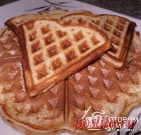Мягенькие вафли - пошаговый рецепт с фото на Готовим дома
