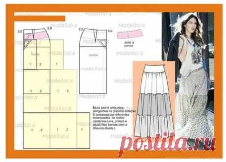 Бохо стиль своими руками для полных: выкройки юбки, платьев, сарафанов, туники, брюк, блузы, кардигана