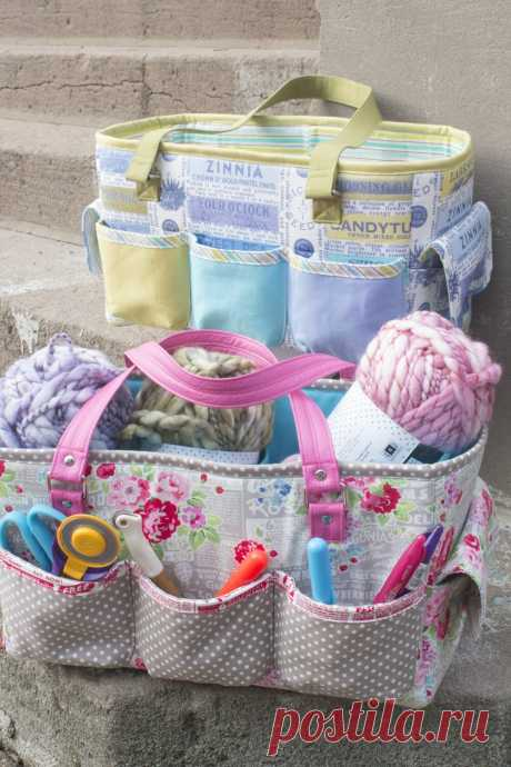 Friday Spotlight: The FREE Oslo Craft Bag pattern! — SewCanShe | Free Sewing Patterns and Tutorials