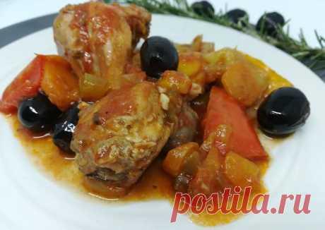 Конильё алла каччатора - кролик по-охотничьи Автор рецепта Alessandra (в Инстаграме alesslepri) - Cookpad