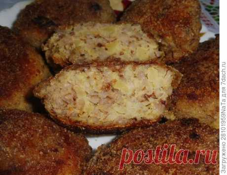 Котлеты из гречки и картофеля. Простой пошаговый рецепт с фото