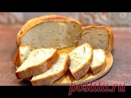 Домашен пухкав хляб без месене - само 3 продукта и малко търпение! /Домашний хлеб без замеса