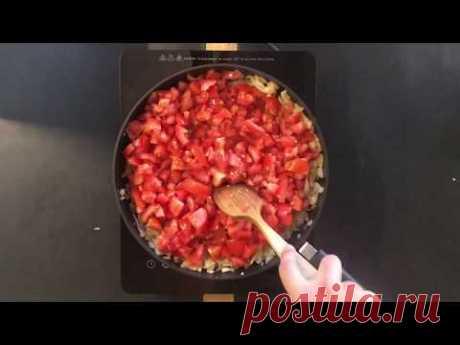 Como hacer la Salsa de Tomate para Pizza y Pasta, Receta casera italiana