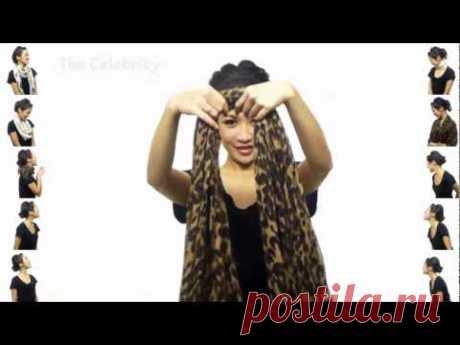 25 способов завязать шарф(платок)