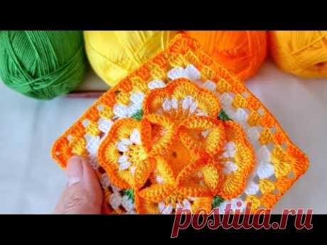 Muhteşem beybi blanket örgü battaniye yatak örtüsü motif modeli