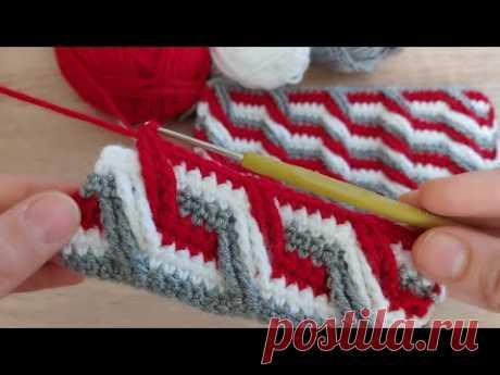 Вязание крючком очень красиво очень легко вязать одеяло детский жилет модель как вязать крючком модель