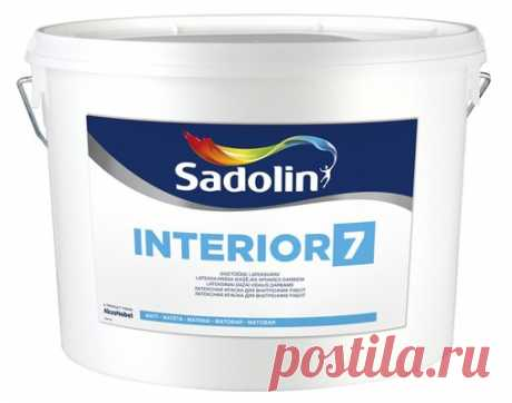 SADOLIN INTERIOR 7 Краска для стен и потолка купить по низкой цене